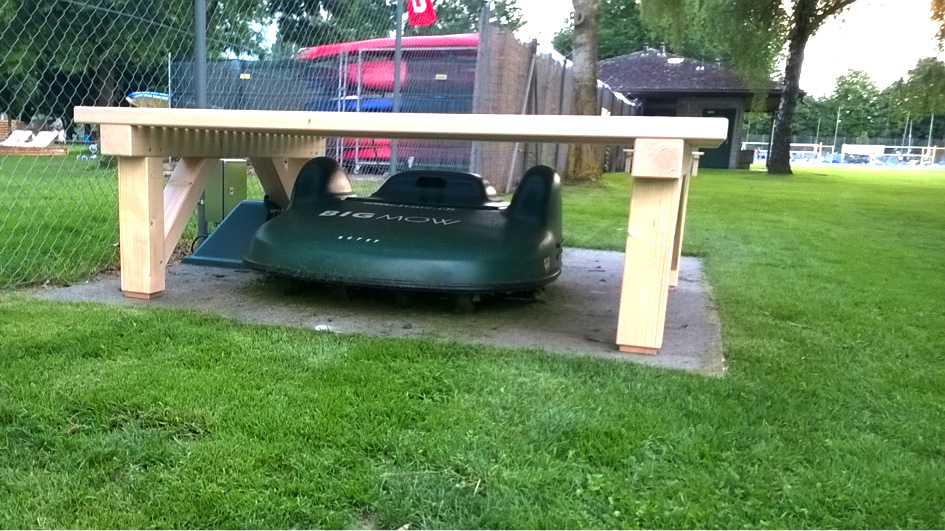 A garage for your robot mower: useful or not?