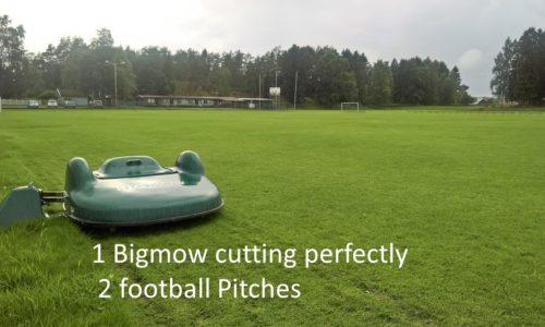 tondeuse robot pour grands terrains entretien terrain de foot belrobotics