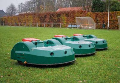 Eine Flotte von Mährobotern in Groningen – Belrobotics