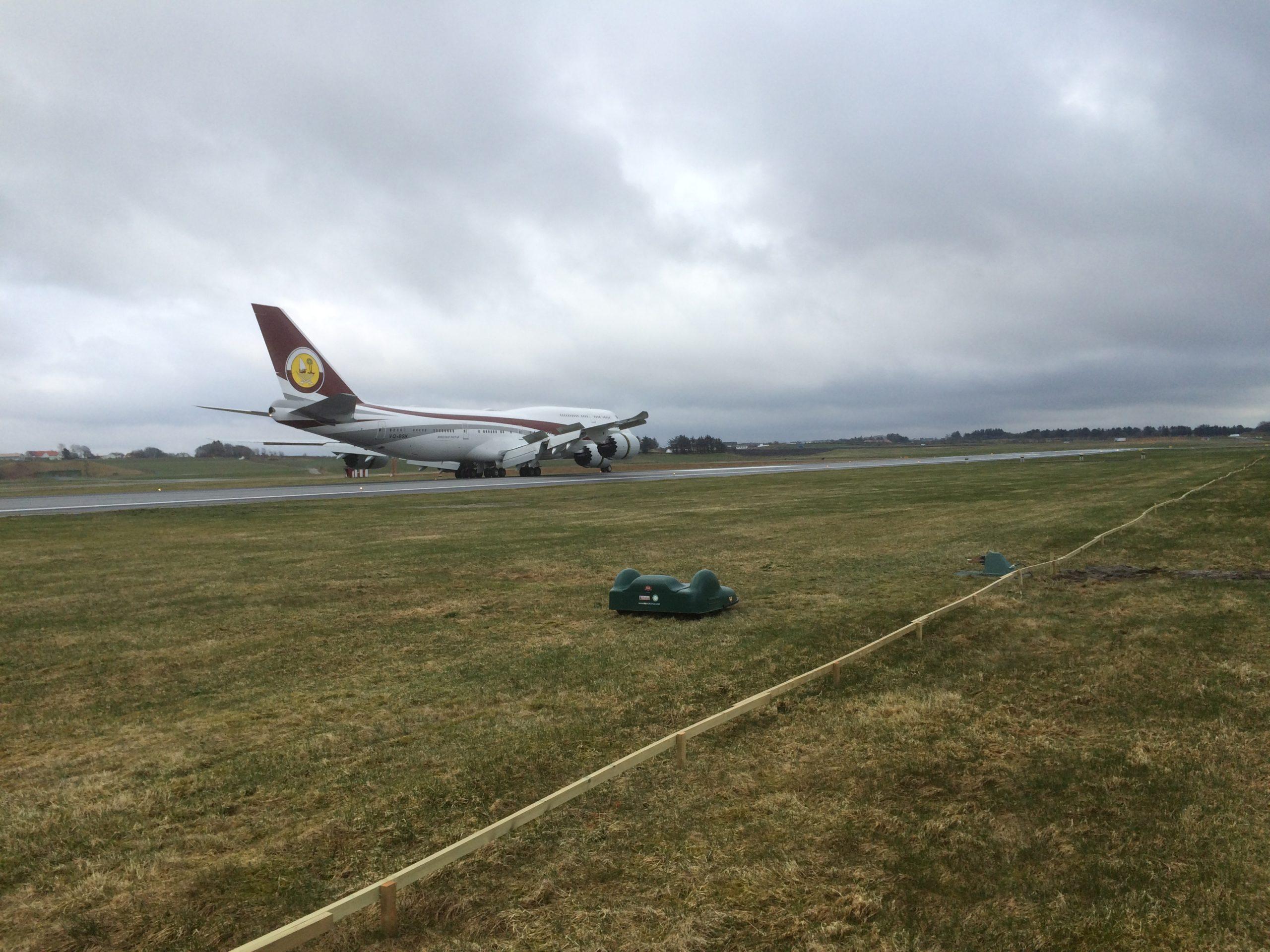 Bigmow on Stavanger Airport Norway